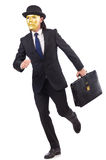 Homem com máscara Imagem de Stock Royalty Free