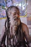 Homem com os dreadlocks em Bengal ocidental Imagens de Stock Royalty Free