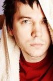 Homem com toalha. Fotografia de Stock Royalty Free