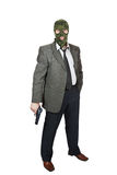 Homem com uma pistola Imagens de Stock Royalty Free