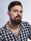 Homem considerável com barba Fotografia de Stock Royalty Free