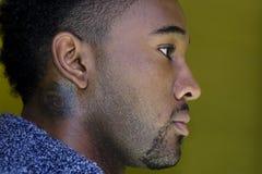 Homem considerável do African-American Imagens de Stock