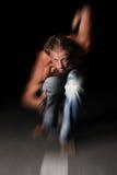 Homem considerável do músculo fotografia de stock royalty free