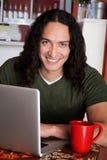 Homem considerável do nativo americano fotografia de stock