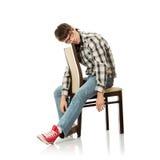 Homem considerável na depressão foto de stock royalty free