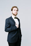 Homem considerável no terno Foto de Stock