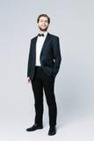 Homem considerável no terno Fotografia de Stock Royalty Free