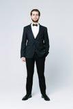 Homem considerável no terno Imagem de Stock Royalty Free