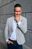 Homem considerável novo elegante Foto de Stock Royalty Free