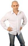 Homem considerável calvo Fotos de Stock Royalty Free