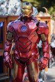 Homem Cosplay do ferro Fotografia de Stock