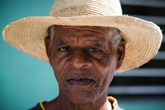Homem cubano superior imagem de stock