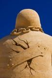 Homem da areia fotos de stock royalty free