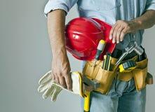 Homem da construção Imagens de Stock