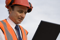 Homem da construção Fotografia de Stock Royalty Free