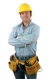 Homem da ferramenta - amigável foto de stock royalty free