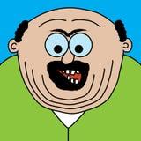 Homem da gordura dos desenhos animados Imagens de Stock
