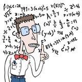 Homem da inteligência ilustração do vetor