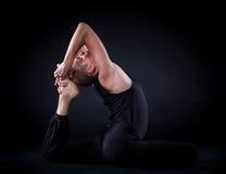 Homem da ioga Fotos de Stock Royalty Free
