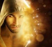 Homem da luz Foto de Stock Royalty Free