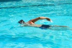Homem da natação Imagens de Stock Royalty Free