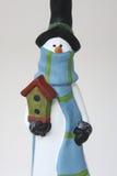 Homem da neve Fotografia de Stock Royalty Free