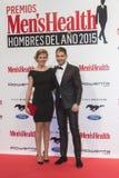 Homem da saúde de Men's das concessões do ano 2015 no Madri, Espanha Fotos de Stock Royalty Free