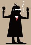 Homem da silhueta Ilustração Stock