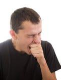 Homem de bocejo Fotos de Stock Royalty Free