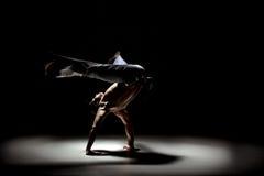 Homem de Capoeira Fotografia de Stock Royalty Free