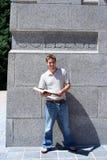 Homem de faculdade Imagens de Stock