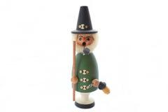 Homem de fumo da tubulação do brinquedo Imagem de Stock