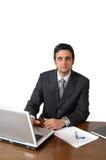 Homem de funcionamento Imagem de Stock Royalty Free
