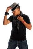 Homem de Hip Hop Fotografia de Stock Royalty Free