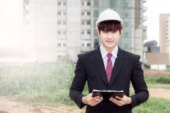 Homem de indústria da construção Imagem de Stock