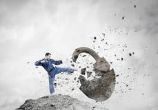 Homem de Krate na ação Imagem de Stock
