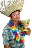 Homem de Margarita - elogios! Imagem de Stock Royalty Free