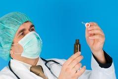 Homem de medicina Foto de Stock Royalty Free