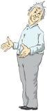 Homem de meia idade ilustração royalty free