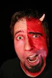 Homem de monstro do diabo Imagens de Stock