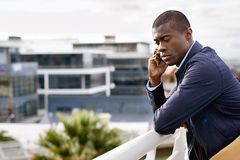 Homem de negócio África Imagem de Stock Royalty Free