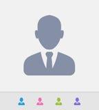 Homem de negócio - ícones do granito ilustração royalty free