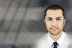 Homem de negócio abstrato imagens de stock royalty free