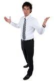 Homem de negócio acessível Fotografia de Stock Royalty Free