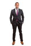 Homem de negócio africano imagem de stock royalty free