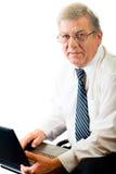 Homem de negócio amigável maduro Imagem de Stock Royalty Free