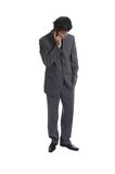 Homem de negócio (as séries) fotografia de stock