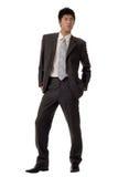 Homem de negócio asiático fotografia de stock