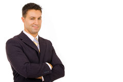 Homem de negócio bem sucedido Imagens de Stock Royalty Free