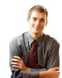 Homem de negócio bem sucedido Fotos de Stock Royalty Free